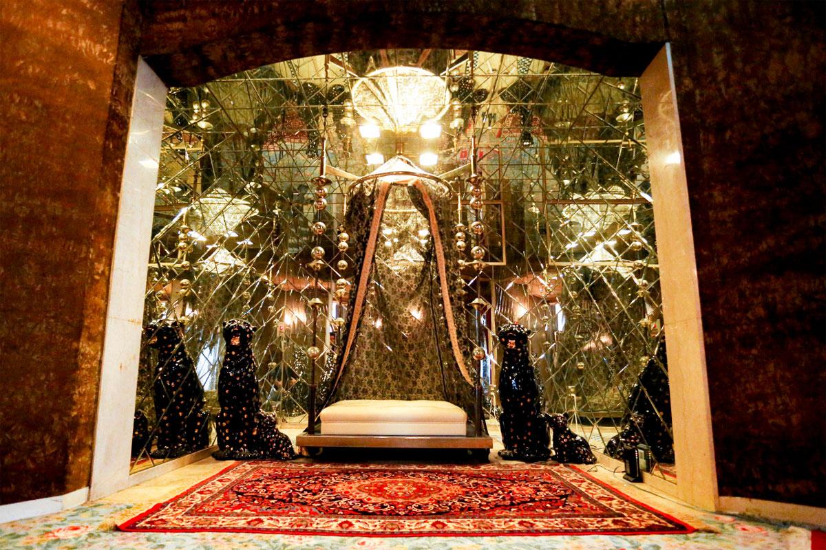 川崎高級ソープランド アラビアンナイト 店内 迎賓館