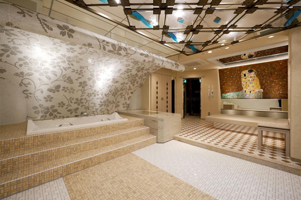 川崎高級ソープランド アラビアンナイト 店内 個室